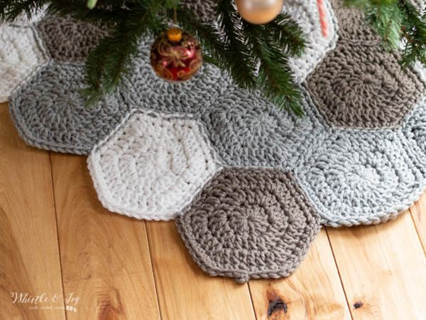 Hexagon Tree Skirt