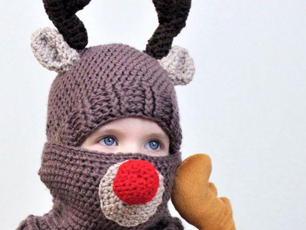Royce Reindeer Hat and Cowl