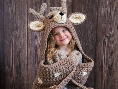 Woodland Deer Blanket