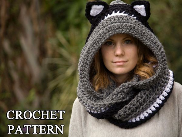 Cat Hooded Scarf