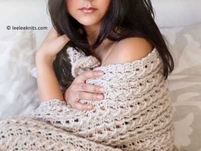 Braided Cabled Throw