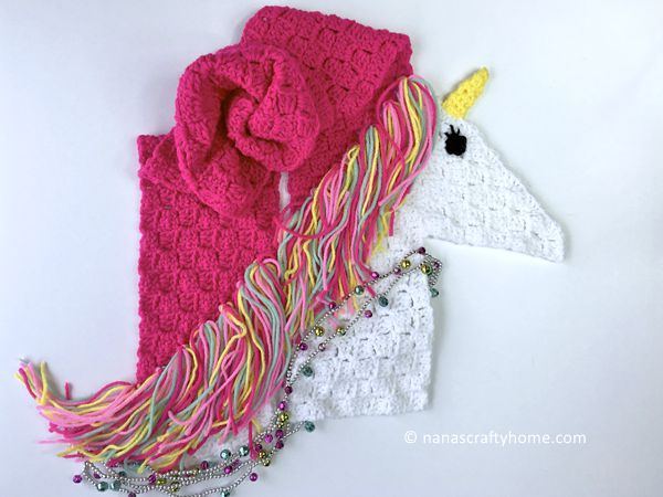 Unicorn Scarf C2C
