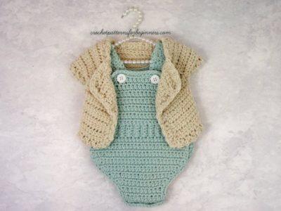 Baby Sweater Set Crochet Pattern