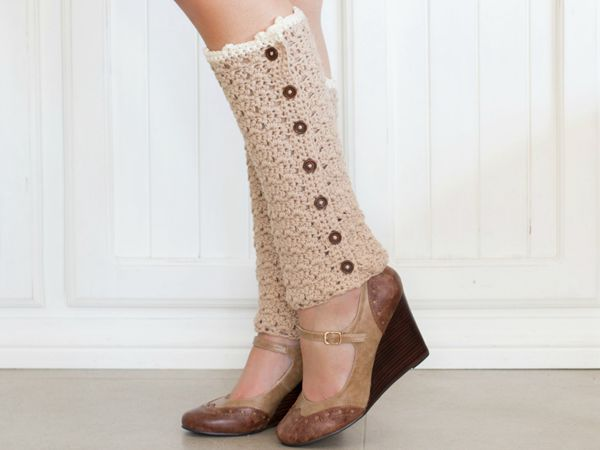 Vintage French Leg Warmers