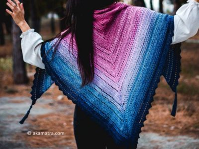 Samurai's wisdom shawl