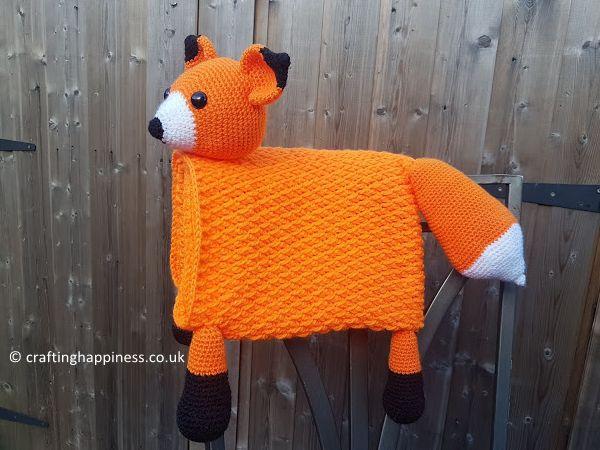 3 in 1 Woodland Fox Baby Blanket