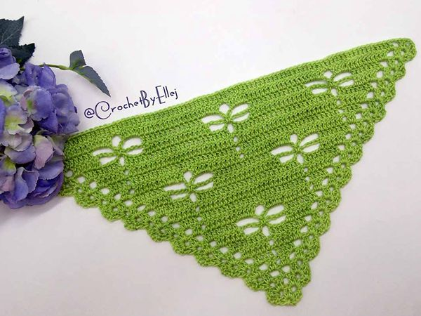 Dragonfly shawl