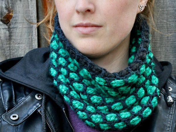 Woven Crochet Cowl