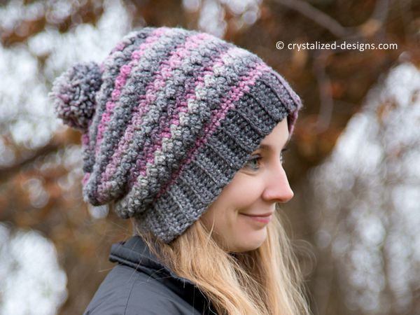 Verity Beanie Slouch Messy Bun