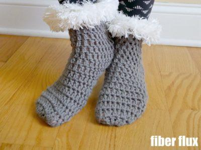 Winter's Warmth Slipper Socks