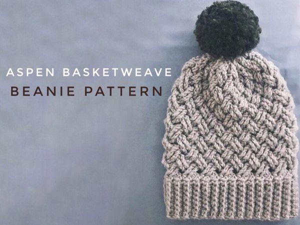 Aspen Basket Weave Beanie