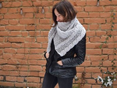 Crochet Living Lagom Chunky Shawl