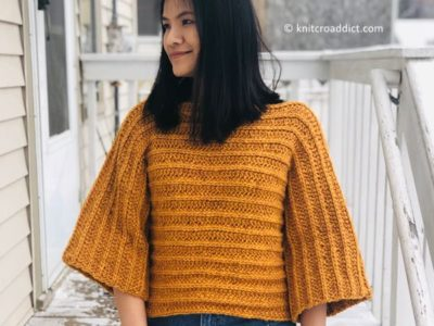 3/4 Sleeve Pull over sweater