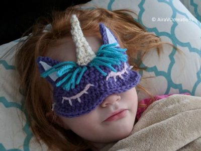 Child's Unicorn Sleep Mask