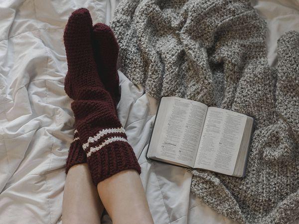 Varsity Love Socks