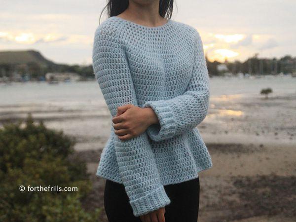 Julia Peplum Sweater