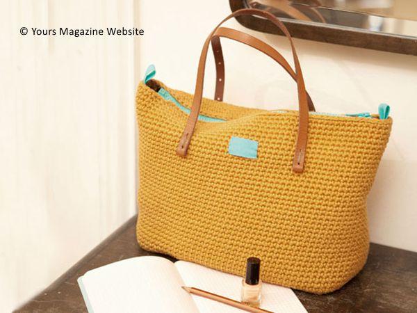 Crochet Day Bag