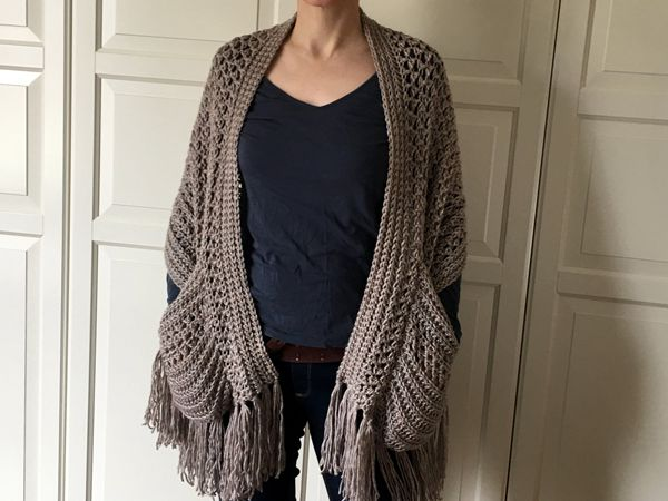 EASY Womens Scarf Pattern