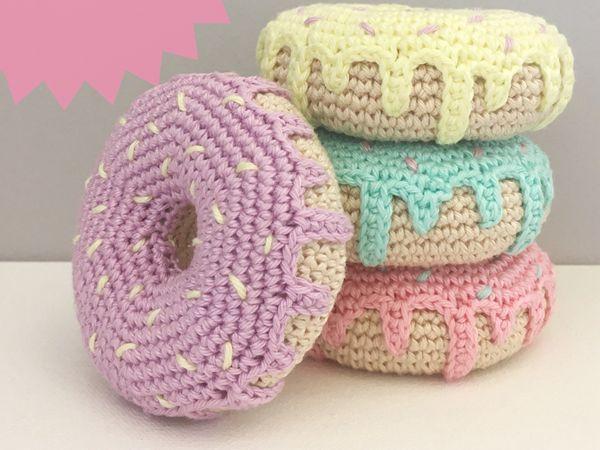 Crochet Donut Pattern