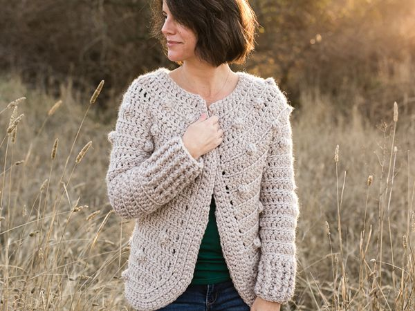Hartley Women's Crochet Sweater