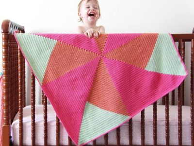 Crochet Pinwheel Blanket