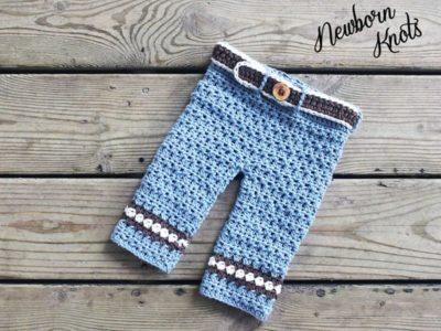 Boys or Girls Diamond Stripe Baby Pants