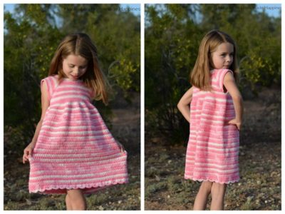Carson Crochet Dress Pattern free pattern