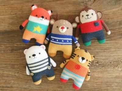 Crochet 5 in 1 Amigurumi Pattern