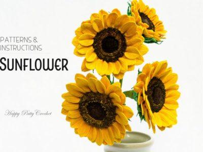 Crochet Sunflower Pattern