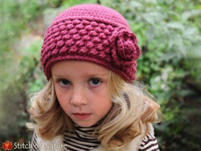 Crochet The Rosedale Vintage Hat Pattern