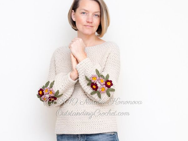 Primrose Sweater Crochet