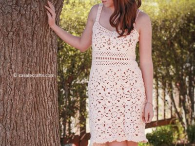 THE FLEUR DRESS CROCHET PATTERN