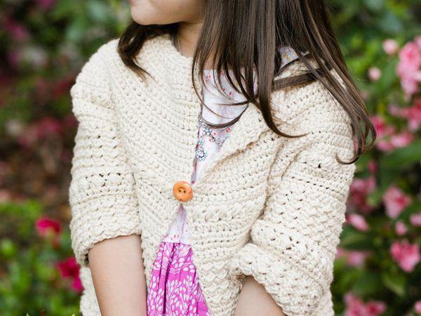 baby and kids free crochet sweater pattern