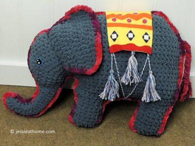 crochet Amir the Elephant free pattern