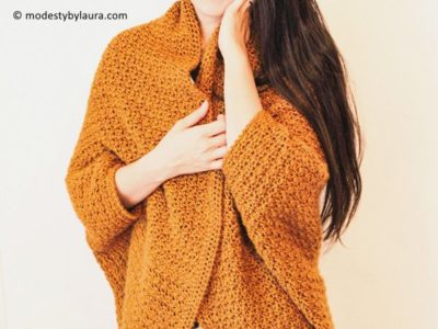 crochet Honey Cocoon free pattern