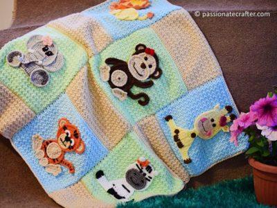 Jungle Friends Baby Blanket