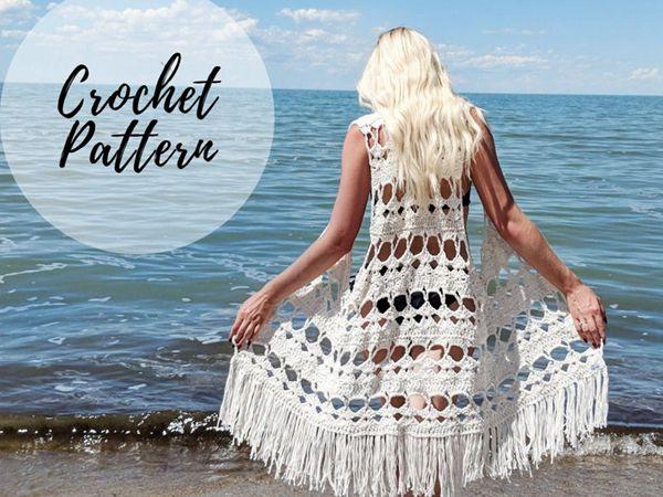 Aloha Vest x Crochet Pattern