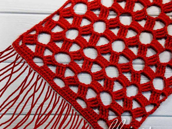 CROCHET Estrella scarf FREE PATTERN