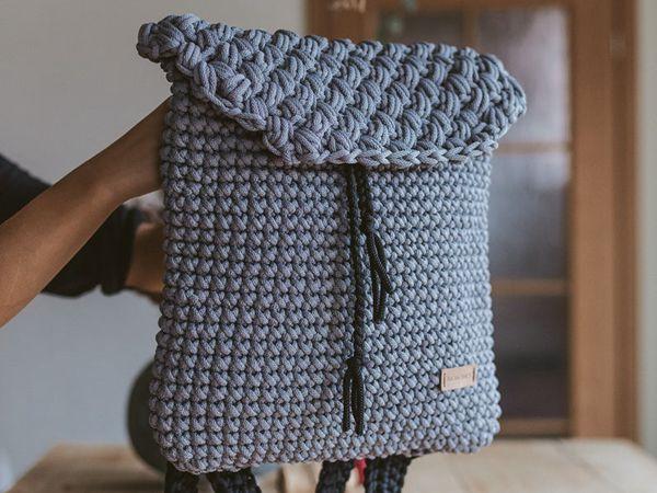 Everyday Crochet backpack