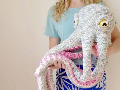 crochet Apollo the Octopus free pattern