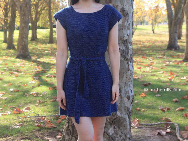 crochet Audrey Dress free pattern