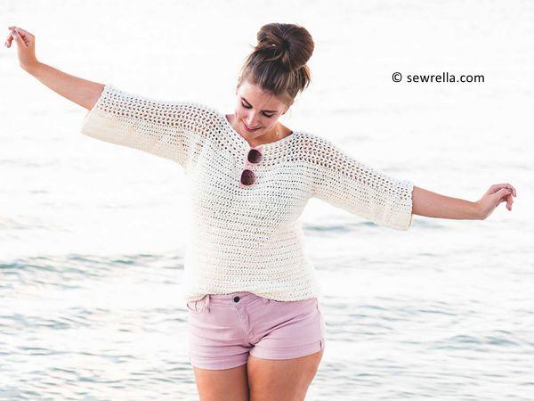 crochet Cabana Top free pattern
