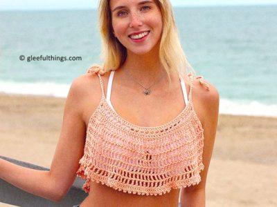 crochet Catalina Crop Tank free pattern