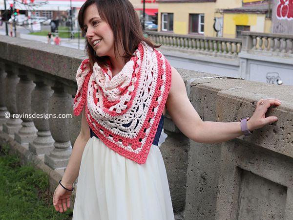 crochet Doily Parton Shawl free pattern
