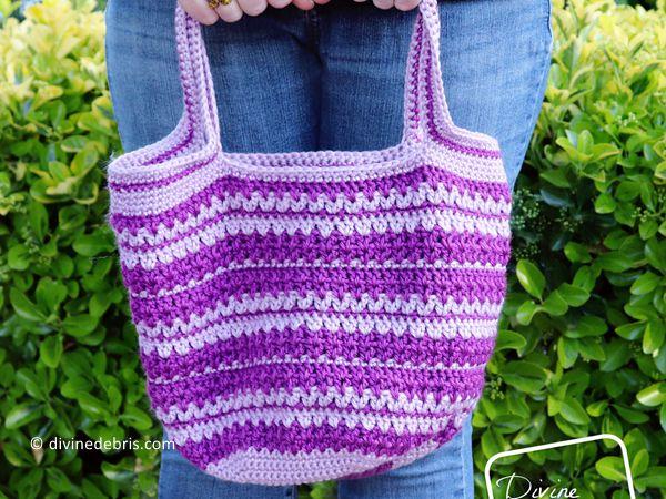 crochet Mary Market Tote free pattern