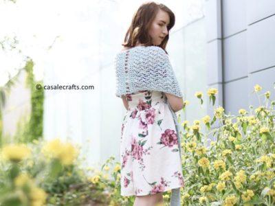 crochet THE ELIZABETH SHAWL free pattern