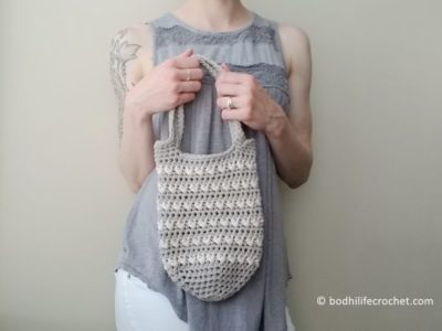crochet The Coquina Beach Bag free pattern