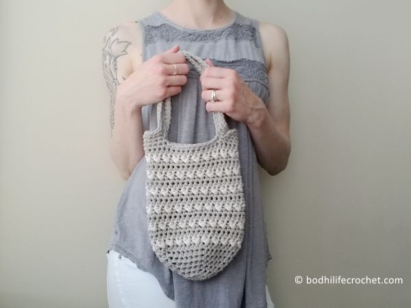 crochet The Coquina Beach Bag free pattern