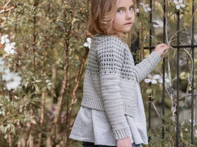 crochet The Fringe Cardigan pattern