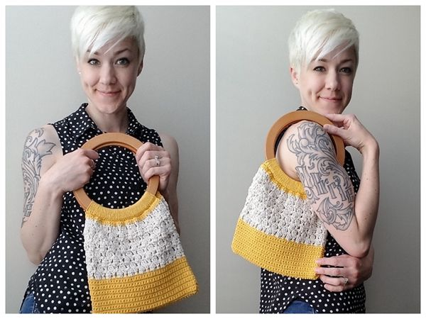 crochet pattern Happy Together Purse free pattern